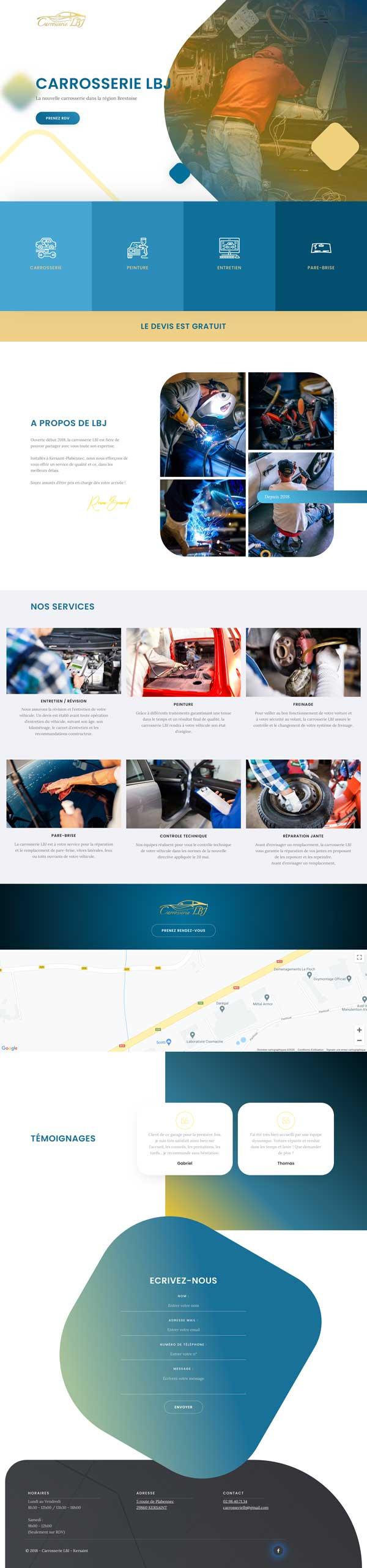 webdesign original site vitrine egs omgo branding