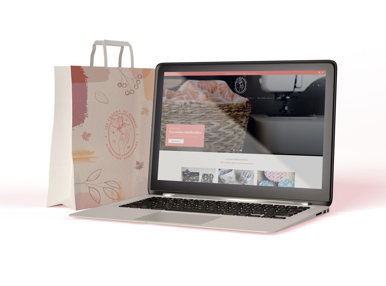 création site e-commerce coton lavable rennes