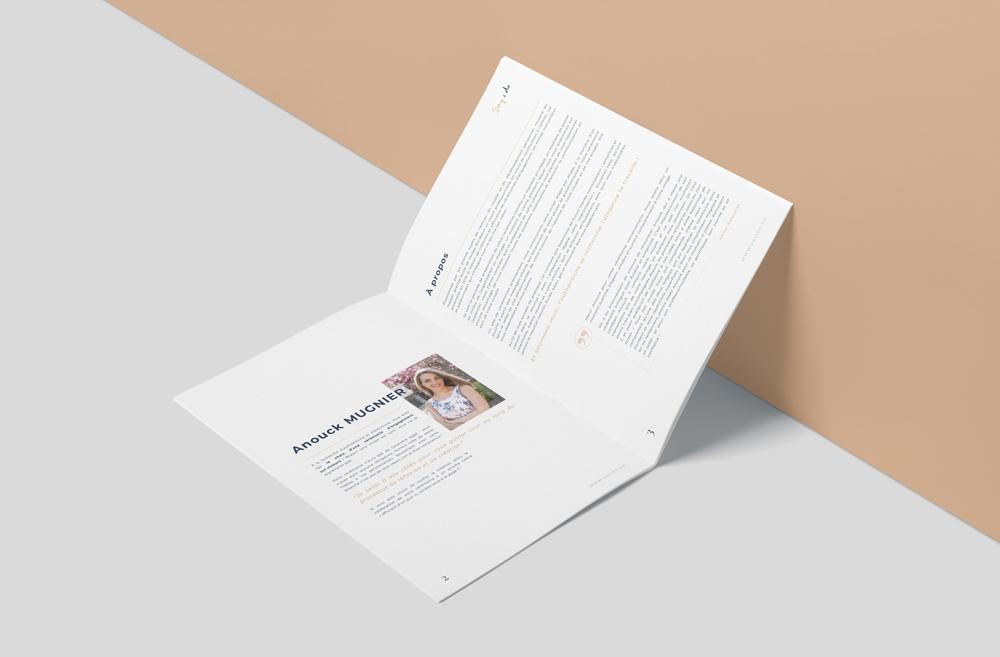 création catalogue mariage